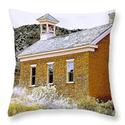 Church - Grafton Utah Throw Pillow