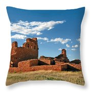 Church Abo - Salinas Pueblo Missions Ruins - New Mexico - National Monument Throw Pillow