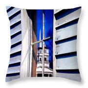 Church And State Throw Pillow