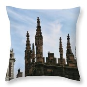 Church Architecture II  Nyc  Throw Pillow