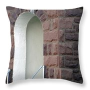 Church At Cuervo - New Mexico Throw Pillow