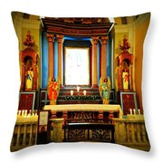 Church Colors Throw Pillow