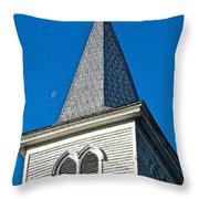 Church Drawing Throw Pillow