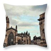 Church Edinburgh II Throw Pillow