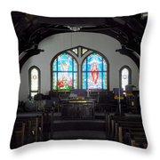 Church - Grand Caymans Throw Pillow