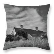 Church Hill Road Barn Throw Pillow