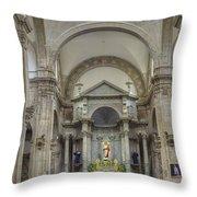 Church In Guanajuato Throw Pillow