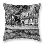 Church In Holland Throw Pillow