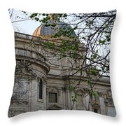 Church In Rome Throw Pillow