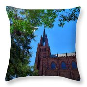Church In Sc Throw Pillow