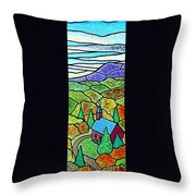 Church In The Wildwood Throw Pillow