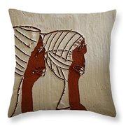 Church Ladies - Tile Throw Pillow