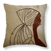 Church Lady - Tile Throw Pillow