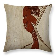 Church Lady 10 -tile Throw Pillow