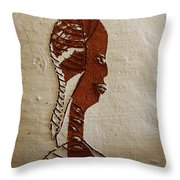 Church Lady 11 - Tile Throw Pillow