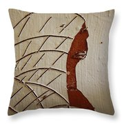 Church Lady 2 - Tile Throw Pillow