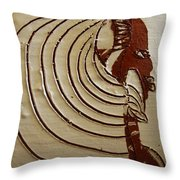 Church Lady 3 - Tile Throw Pillow