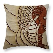 Church Lady 4 - Tile Throw Pillow