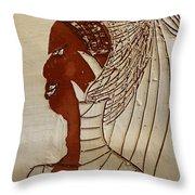 Church Lady 5 - Tile Throw Pillow