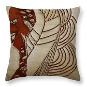 Church Lady 6 - Tile Throw Pillow
