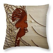 Church Lady 7 - Tile Throw Pillow