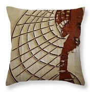 Church Lady 8 - Tile Throw Pillow