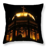 Church Lights Throw Pillow