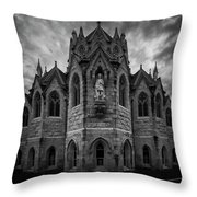 Church Of Our Lady Throw Pillow