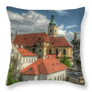 Church Of Our Lady Victorious Throw Pillow