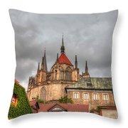Church Of Saint Bartholomew Throw Pillow