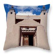 Church Of San Jose De Garcia, Las Throw Pillow