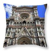 Church Of Santa Croce  Throw Pillow