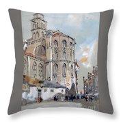 Church Of Santa Maria Throw Pillow