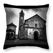 Church Of Santi Gervasio And Protasio Throw Pillow