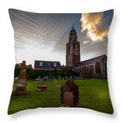Church Of St Anne Throw Pillow