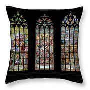Church Of St. Barbara, Kuntna Hora, Czech Republic, Trilogy Throw Pillow