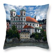 Church Of St. Michael Throw Pillow