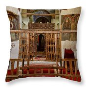 Church Of The Apostles Throw Pillow