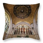 Church Of The Flagellation Throw Pillow
