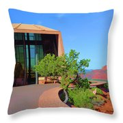 Church Of The Holy Cross Throw Pillow
