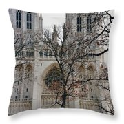 Church Of The Nation Throw Pillow