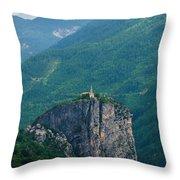 Church Of Verdon Throw Pillow