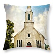 Church On 8 Throw Pillow