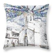 Church Square Throw Pillow