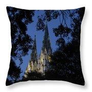 Church Steeples Throw Pillow