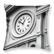 Church Time - St Louis Cathedral - New Orleans Throw Pillow