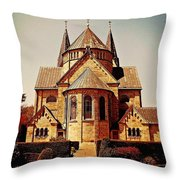Church To Worship The Living God Catus 1 No. 1 H A Throw Pillow