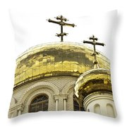 Church1 Throw Pillow