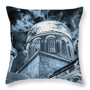 Church2 Throw Pillow