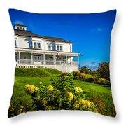 Churchill Mansion Inn Throw Pillow